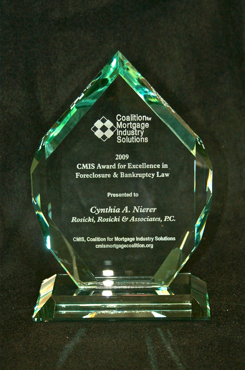 Cynthia Nierer CMIS_Excellence F BK Law Award